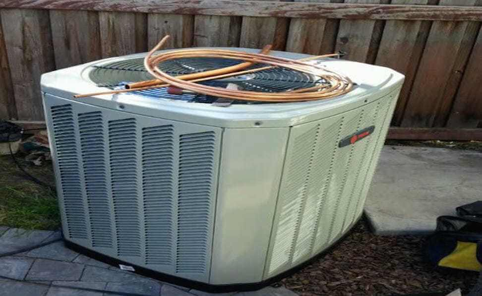 ac compressor installation